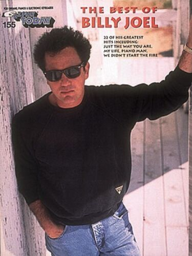 The Best of Billy Joel Sheet Music E-Z Play Today Book NEW 000101549