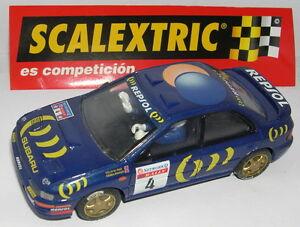 To Invigorate Health Effectively Selfless Scalextric Spain Altaya Rally Mythische Subaru Impreza Rac-rallye'95 Lted.ed Spielzeug