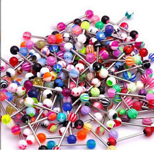 Lot 51x Tongue Bars Wholesale Body Piercing Jewellery Body Jewellery