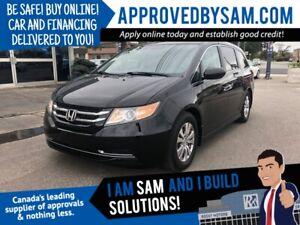 2014 Honda Odyssey - Be Safe! Buy Online! @ APPROVEDBYSAM.COM