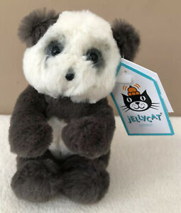 NEW-Jellycat-Tiny-Harry-Panda-Cub-Black-White-Soft-Baby-Comfort-Soother-Toy-BNWT