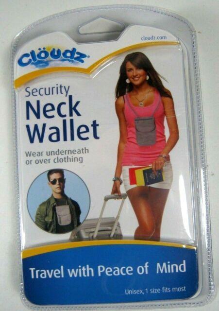 Cloudz Security Neck Wallet / Pouch