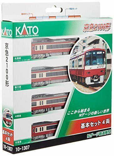 Kato 101307 N Gauge KEIHIN ELETTRICO EXPRESS tipo 2100 di base 4auto modellolino Ferrovia