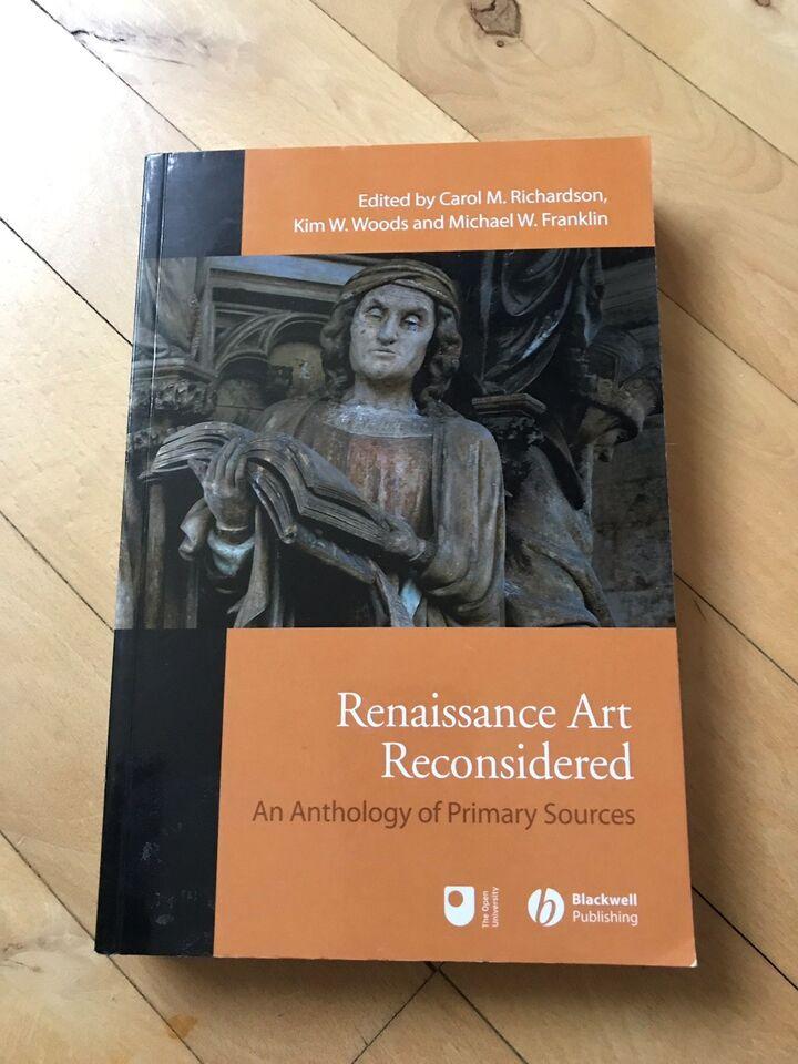 Renaissance art reconsidered, Carol M. Richardson, emne: