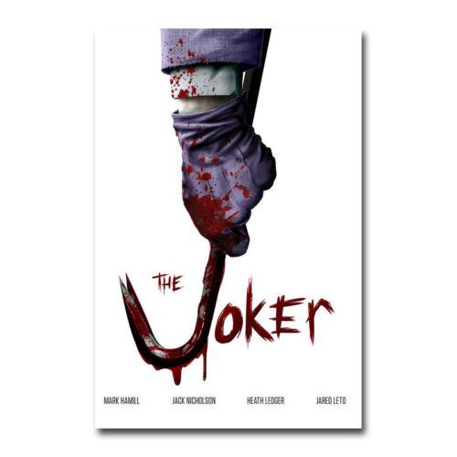 The Joker Hot Movie Art Canvas Poster Print