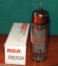 RCA EL84 6BQ5 Solid Disc Getter Vacuum Tube Very Strong  Results 14,600