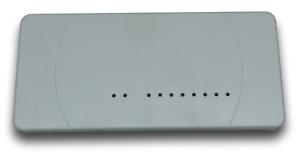 8-circuits Funk règle de Serrage Barre 230 V 16 A tenue d/'apparat Thermostat Série TOP #a45
