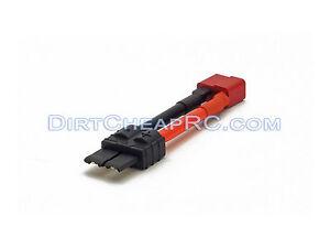 Adaptador-de-corriente-alta-Hembra-a-Macho-Traxxas-decanos-12AWG-Plug-TRX-Esc-Lipo-T