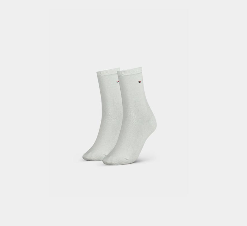 Tommy Hilfiger Damen Socken White im 2er, 4er, 6er, 8er, 10er und 12er Pack