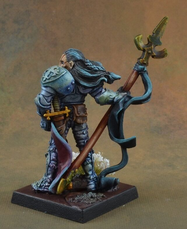 Painted Lord Ironraven, Justicar from Reaper Reaper Reaper Miniatures, paladin, knight ac6ecc