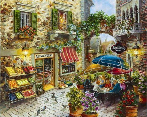 Van-Go Paint-By-Number Kit Italian Grocery
