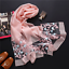 Brand-luxury-silk-scarf-2018-New-Designer-women-brand-colorful-shawl-scarf thumbnail 15