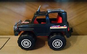 PLASTO-BAMBOLA 4X4 TOY JEEP/TRUCK Made in Finland RARE