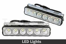 2x OffRoad Conducción Faros DRL Luz De Trabajo Todoterreno Camión 12V 24V 6 LED
