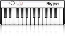 NEW IK Multimedia iRig Keys Mini USB Midi Keyboard Controller 25 Key Sampletank