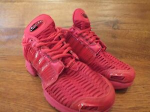 hot sales f3724 ffdc9 Image is loading Adidas-Climacool-1-Triple-Red-Casual-Trainer-Size-