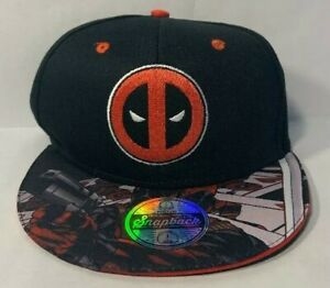 96c17ca0e24 Image is loading BRAND-NEW-MARVEL-BERKSHIRE-FASHION-SNAPBACK-DEADPOOL -ATTACK-