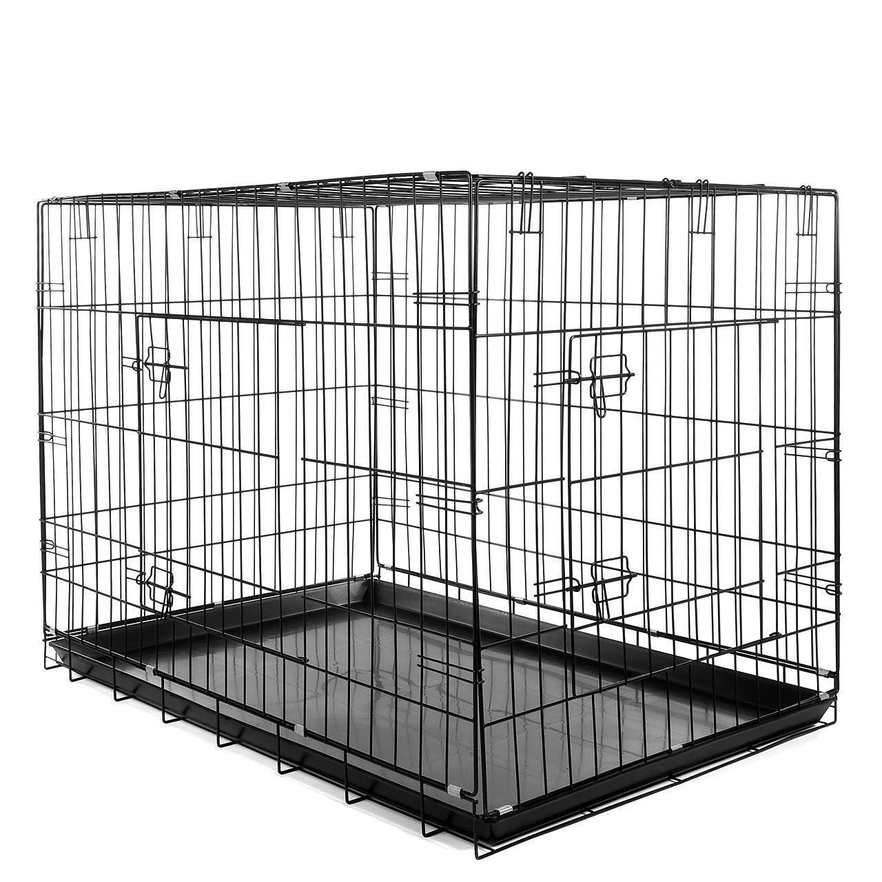 Per trasporto cani cani gabbia trasporto gabbia trasportino gabbia Kennel Taglia XL