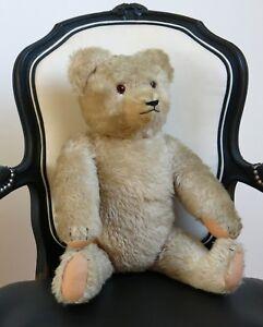 Ours En Peluche Ancien, Old Teddy Bear, Steiff ? Peluche, Jouet Ancien