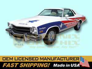 1975 Buick Free Spirit Indy 500 Pace Car Decals Amp Stripes
