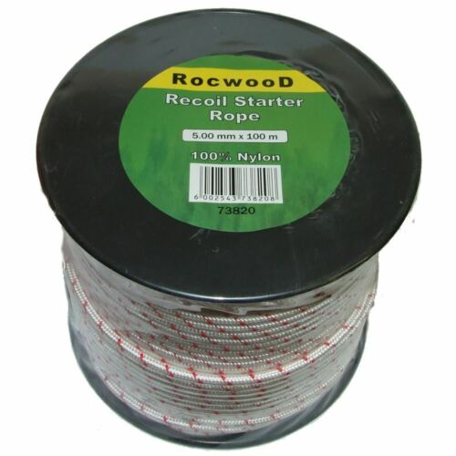 Rope Fits Many Honda Engines Recoil Pull Cord 5mm x 100 Metres m Starter