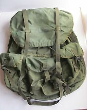 item 7 US Army Green Nylon Field Pack Combat Backpack No Frame Straps Large  LC-1 -US Army Green Nylon Field Pack Combat Backpack No Frame Straps Large  LC-1 c57bc15ef5