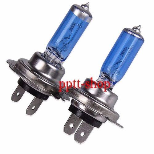H7 Halogen Xenon Headlight Bright White 5000K 55w Lamp Light Bulb Low Beam