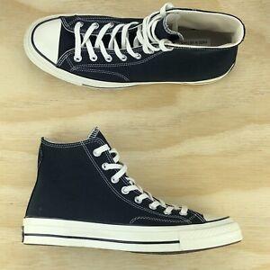 Détails sur Converse Chuck Taylor All Star 70 Hi Noir première chaîne Chaussures 162050 C Sz 5 m 7 W afficher le titre d'origine