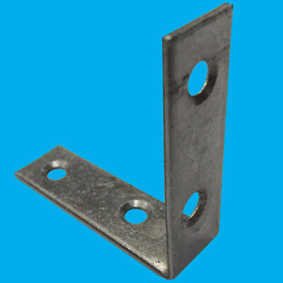 "8x 125mm Corner Braces 5/"" L Shaped Right Angle Support Fixing Repair Brackets"