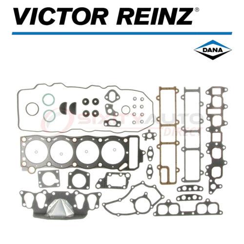 Victor Reinz Cylinder Head Gasket Set for 1985-1995 Toyota 4Runner 2.4L L4 uy