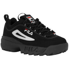 b1739f8a96f50 Fila Unisex Infant Disruptor II 8.5 M Black white vintage Red for ...