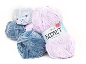 Myboshi Samt Flauschige Wolle Zum Häkeln Stricken Neu 100g 44