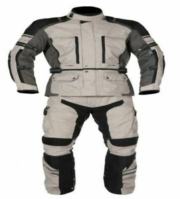 WinNet Completo tuta moto in cordura giacca e pantaloni per turismo M