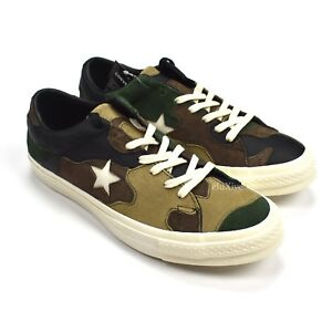 Details about NWT Converse Sneakersnstuff SNS Camo Patchwork One Star Men's Sneakers AUTHENTIC