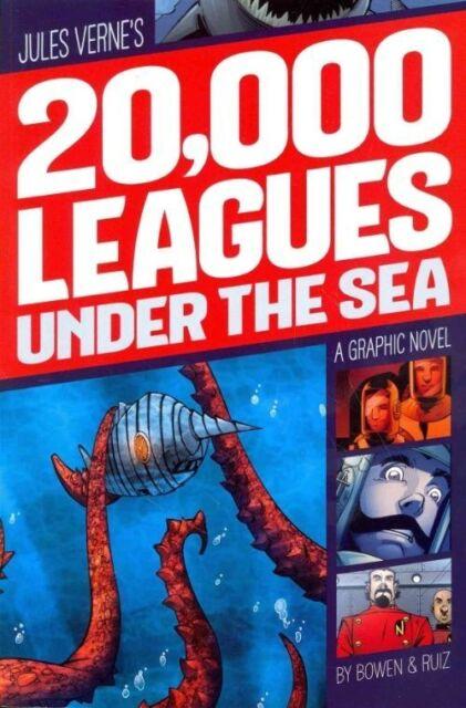 20,000 Leagues Under the Sea: A Graphic Novel (Graphic Revolve: Common Core Edit
