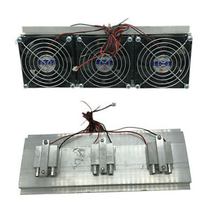 Semiconductor Refrigeration Radiator Thermoelectric Peltier Cooler Practical 1X