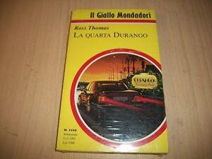 IL-GIALLO-MONDADORI-N-2440-ROSS-THOMAS-LA-QUARTA-DURANGO-5-11-1995-SIGILLATO
