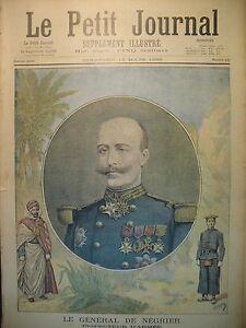 COLONIALE-Gal-DE-NEGRIER-BEZIERS-BRACONNIER-ET-GENDARME-LE-PETIT-JOURNAL-1895
