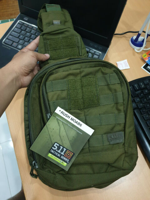 SHIP FROM USA New with tags 5.11 Tactical Rush Moab 6 bag pack Tac Od