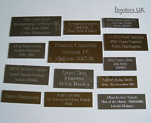 Square Edge Engraved Plaques Plates For Awards Pictures Frames