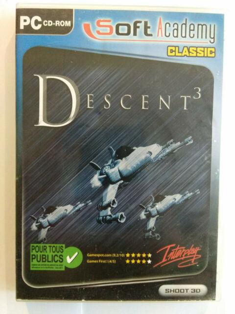 Descent 3 pour Windows / PC / FR