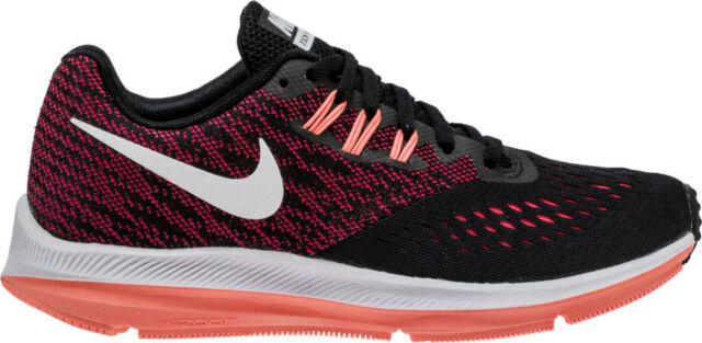 7ab2c06a23a ... coupon code for wmns nike zoom winflo 4 iv black racer red women  running shoes 898485