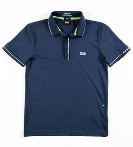 Hugo-Boss-Polo-Shirt-homme-Paule-humidite-Gestionnaire-Bleu-Marine-Slim-50277329