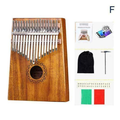 D5Y3 17Keys Holz Kalimba Finger Daumenklavier Bildung Musikinstrument-Spielzeug
