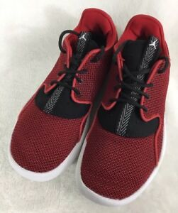 Nike Air Jordan Eclipse Low Top Sneakers 724042-601 Shoes Red Black ... 817630b43