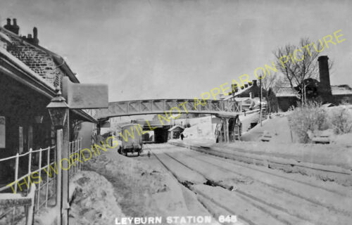 Spennithorne Wensley Leyburn Railway Station Photo Redmire to Bedale. 6