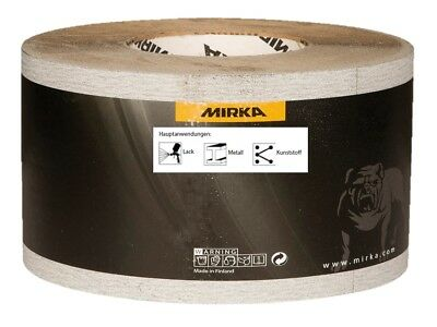 Mirka Caratflex Schleifrollen Schleifpapier 115 mm x 50 m Körnung wählbar