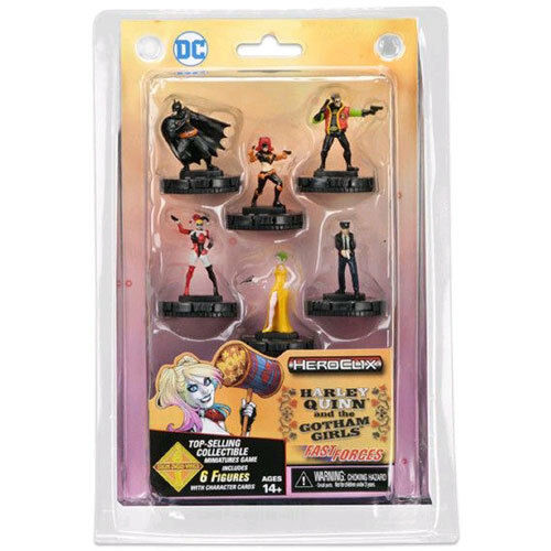 Heroclix - Harley Quinn & the Gotham Girls Fast Forces 6-Pack NEW Wizkids Games