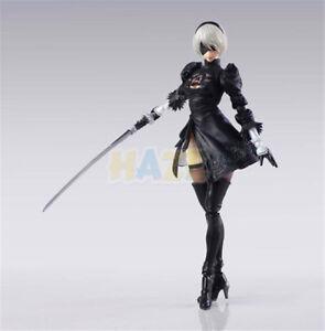 Anime-Nier-Automata-2B-yorha-N-2-Neal-6-034-PVC-Figura-de-Accion-Juguete-Estatua-Modelo