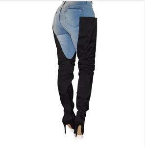 Sexy-extreme-fetish-thigh-waist-high-boots-12cm-4-5-034-high-heel-crotch-long-9-5